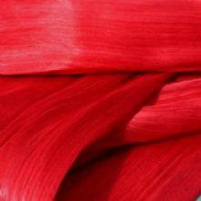 Calm Red Silk Abaca